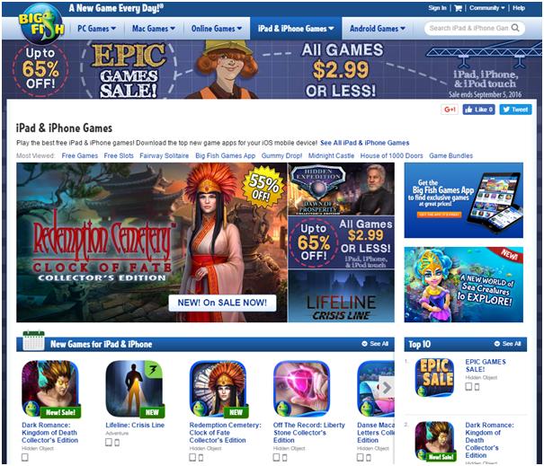 Big Fish Casino Mobile Games