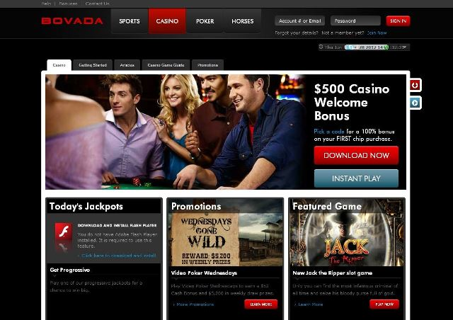 What all you get Playing at Bovada Casino