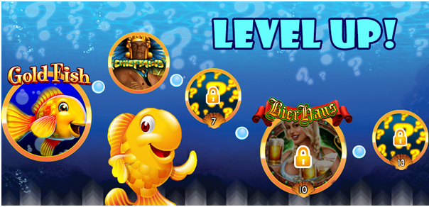 Gold Fish casino free slots game levels
