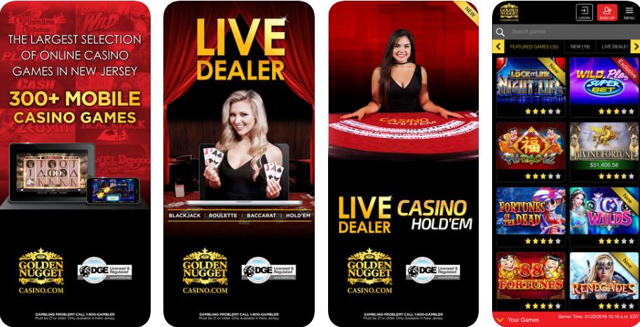 Golden nugget casino app