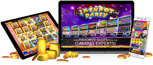 How to get started with Jackpot Party casino slots?
