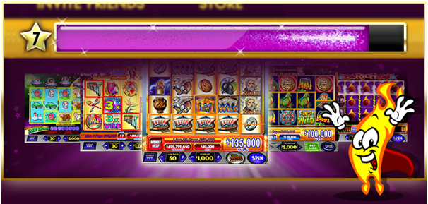 Levelling Up and Gaining Experience in Jackpot Party casino slots