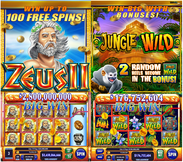 Features of Jackpot Party Casino Slots App