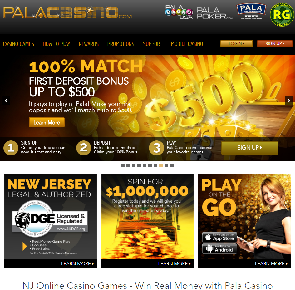 Pala Casino games