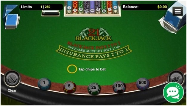 Blackjack and other table games to play at Play Croco online casino