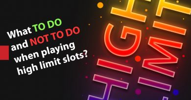 Playing High Limit Slot Tips - What to do and not to do when playing high limit slots