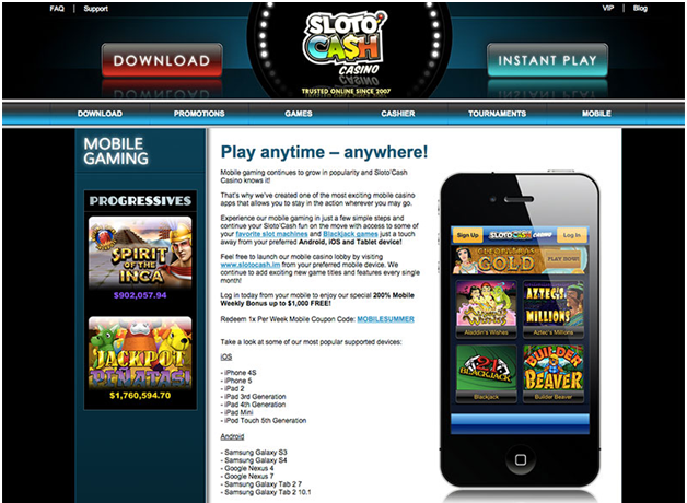 How to play at Slotocash casino
