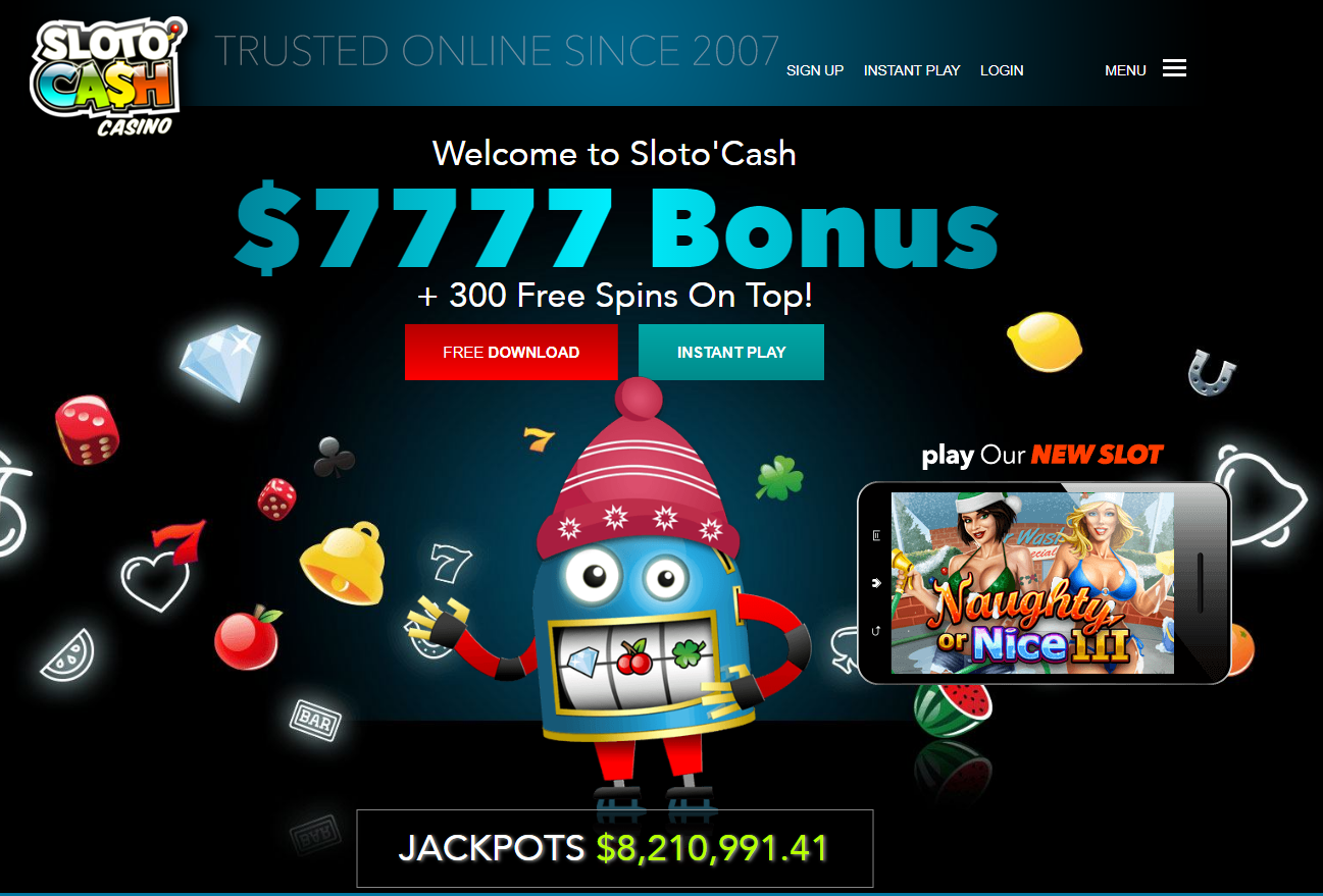 Slotocash casino mobile