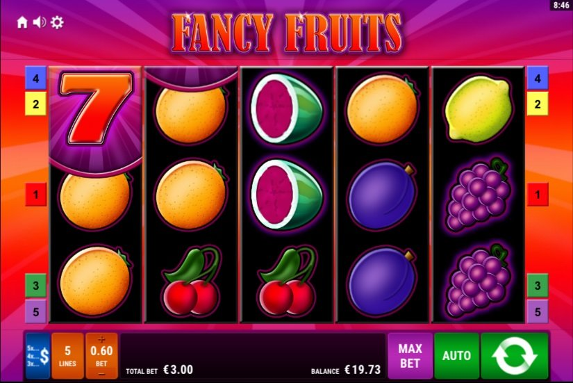 Types of slot machines- fancy fruits
