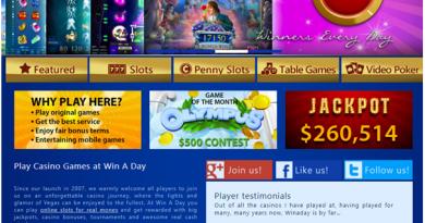 Win a day casino USA