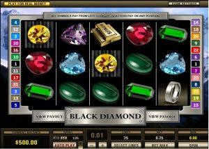 Black Diamond Slot Reels