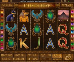 Tales of New Egypt reels