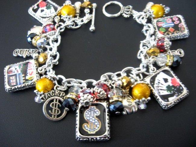 Casino Charm Bracelet